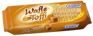 *AS BABUNI WAFLE TOFFI 90G